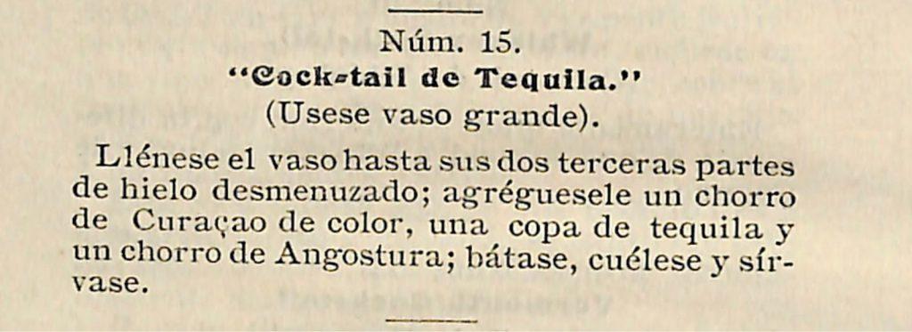1909-Guia-Pratica-del-Cantinero-Bar-Tender il margarita e le sue curiosità