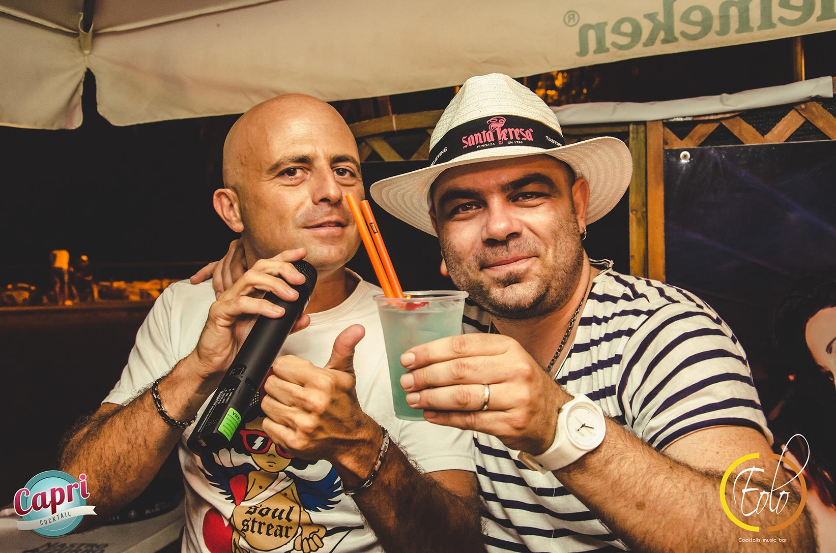 Capri_party_fabio_camboni_luca_abete_strisccia_la_notizia