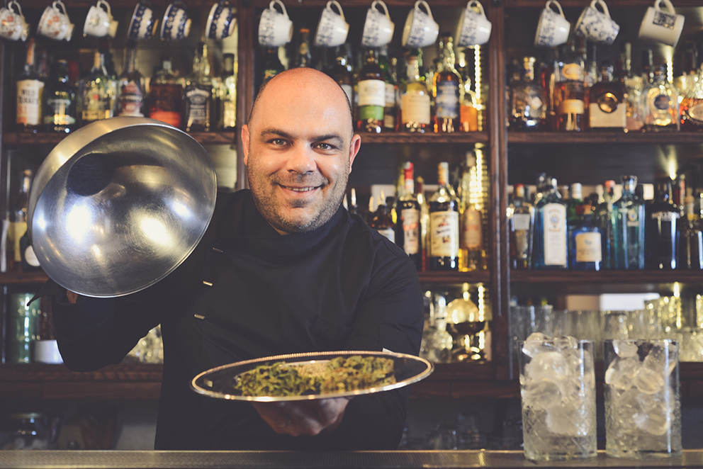 Dalì alle 4:20 è un cocktail con la cannabis di Fabio Camboni bartender