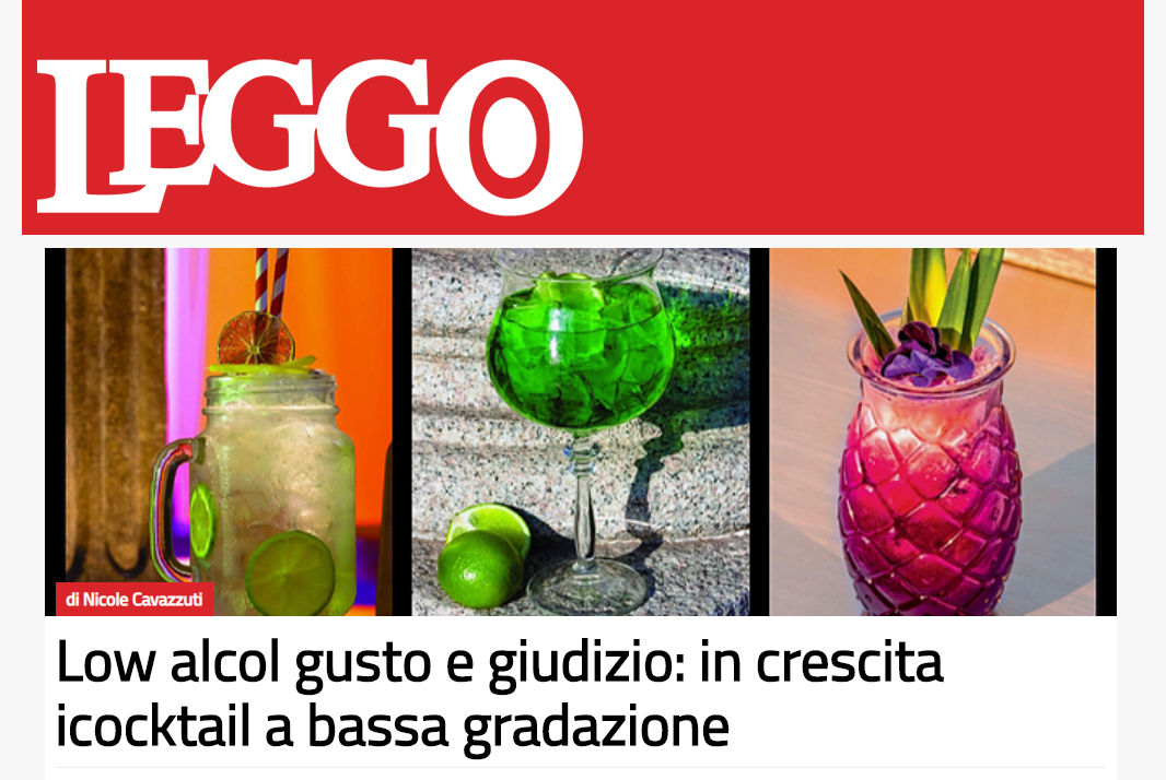 I cocktails low-alcol su Leggo.it