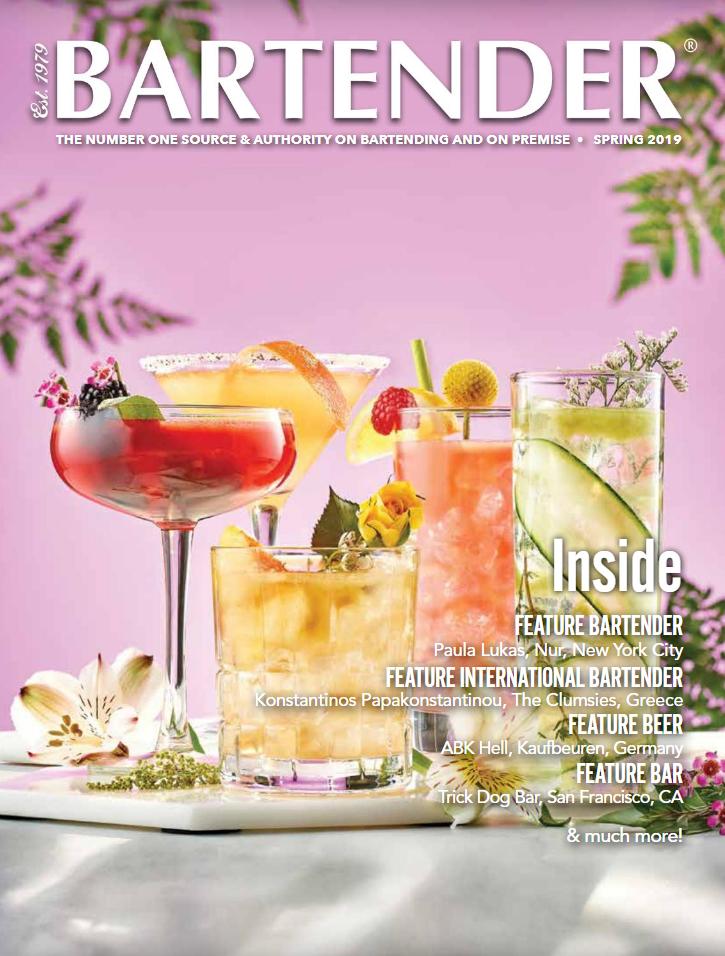 Fabio Camboni Bartender Magazine spring edition