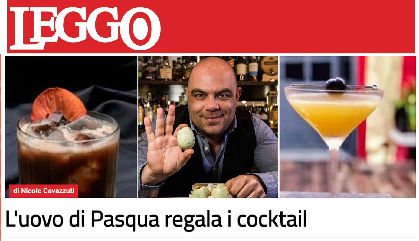 Il N'Uovo Cococktail sulla rivista Leggo