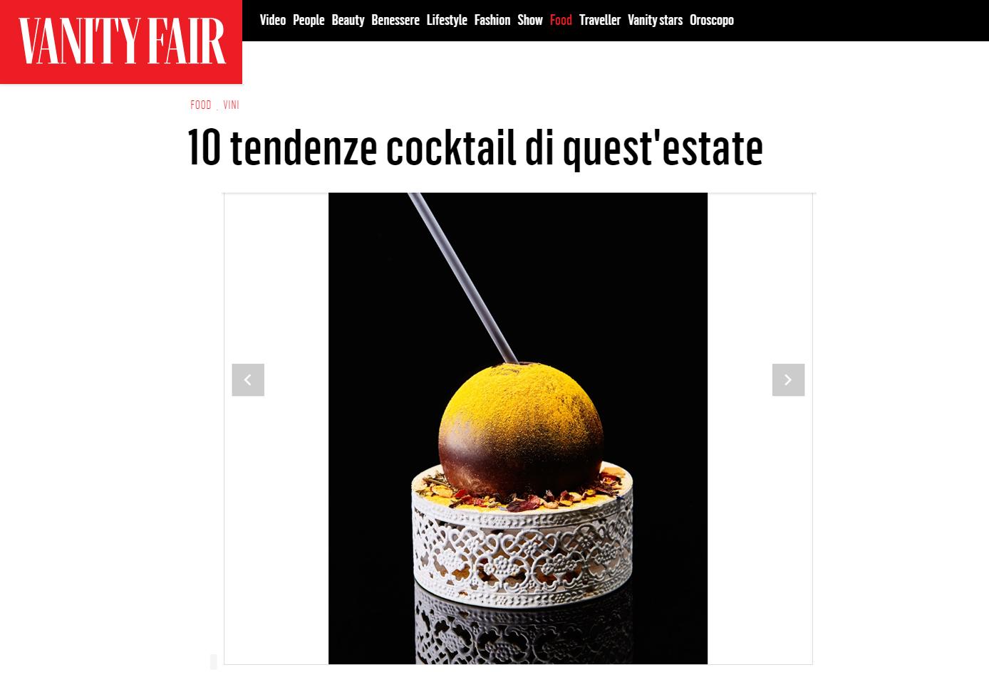 Vanity Fair Fabio Camboni bartender